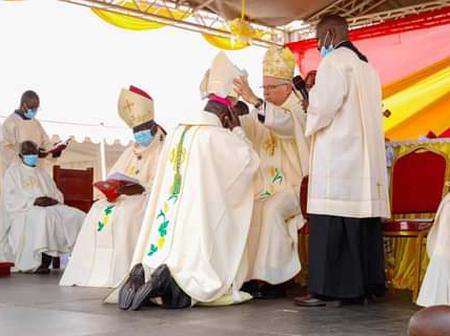 Rev Father Michael Otieno Odiwa Installed As Homabay Bishop(PHOTOS)