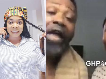 Joyce Dzidzor begs Anita Afriyie for her father's number