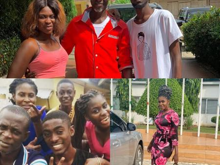 Check out these lovely pictures of Kumawood great Jackson K. Bentum and his family. [Photos]
