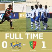 MC Alger won 1-0 against Teungueth in latest CAF Champions league fixture