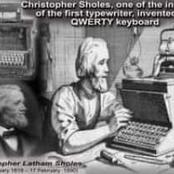 Christopher Latham Sholes: l'inventeur du clavier QWERTY