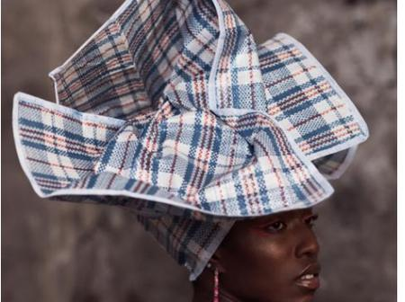 Fashion And Creativity At Its Peak.See Pictures Of What A Photographer Did With 'Ghana Must Go' Bags