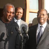Economie : John Dramani du Ghana confond son successeur Akufo et cite la Côte d'Ivoire en exemple