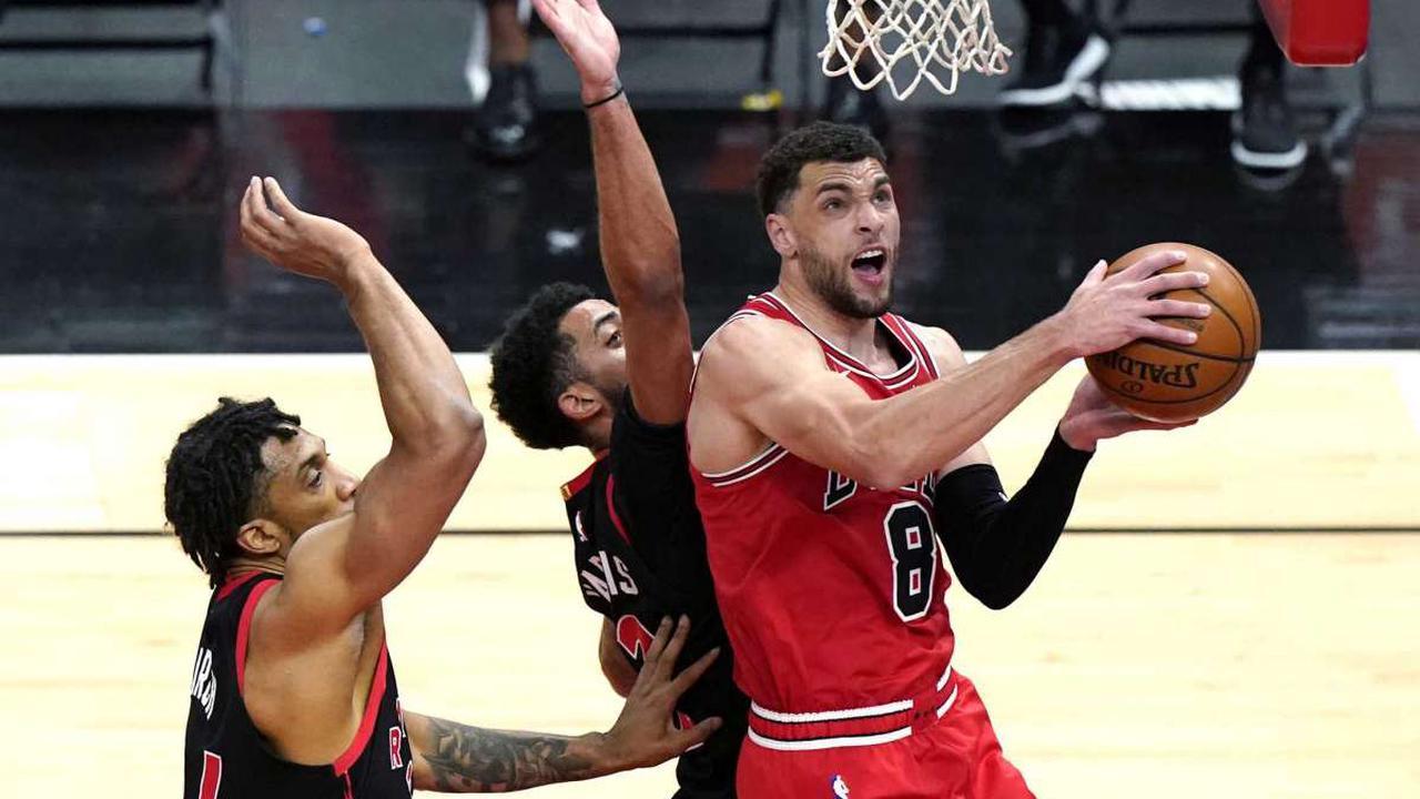 LaVine, Markkanen lead Bulls past Raptors, 114-102