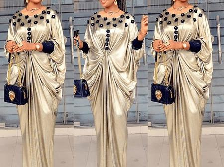 Ladies, Checkout These Unique And Classic Kaftan Dresses For Your Outing