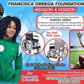Francisca Ordega Foundation Donates 8 Wheelchairs to Disable Persons