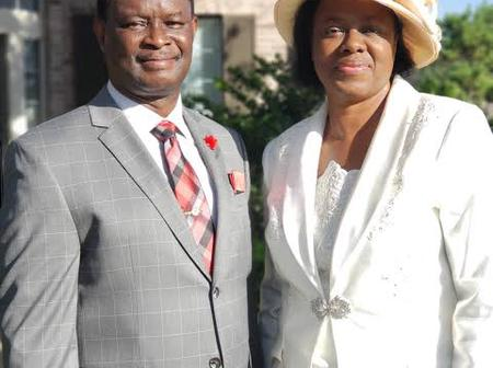 See reactions as Mike Bamiloye commends his wife for being submissive