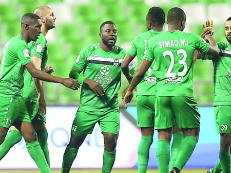 Al-Ahli drew 1-1 in their latest fixture away from home.