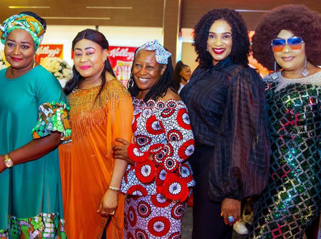 Our Favourite Nollywood Legends Spotted Together In Photo