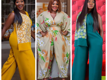Beautiful and Exotic Styles from Mercy Johnson's New Clothing Line