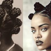 Six African-Ancestral Hair Styles That Inspired Rihanna