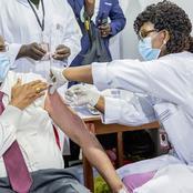 Patrick Achi montre l'exemple pour la campagne de vaccination anti COVID-19.