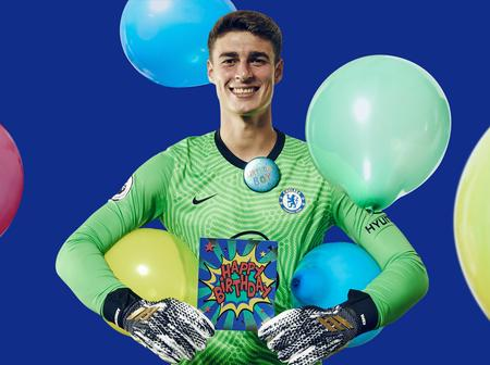 Chelsea FC, fans react as world's most expensive goalkeeper clocks 26 (Photos)