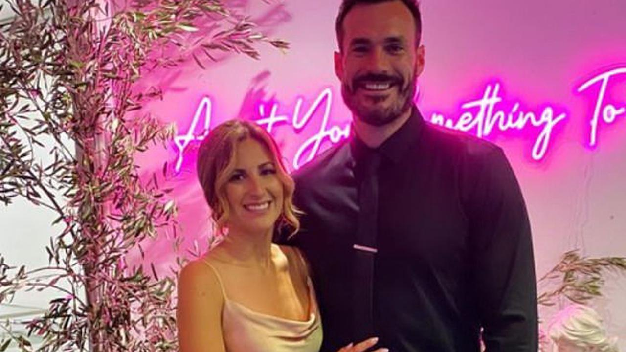 Their turn next! Former Bachelor Locky Gilbert and girlfriend Irena Srbinovska delight fans as they attend a wedding together