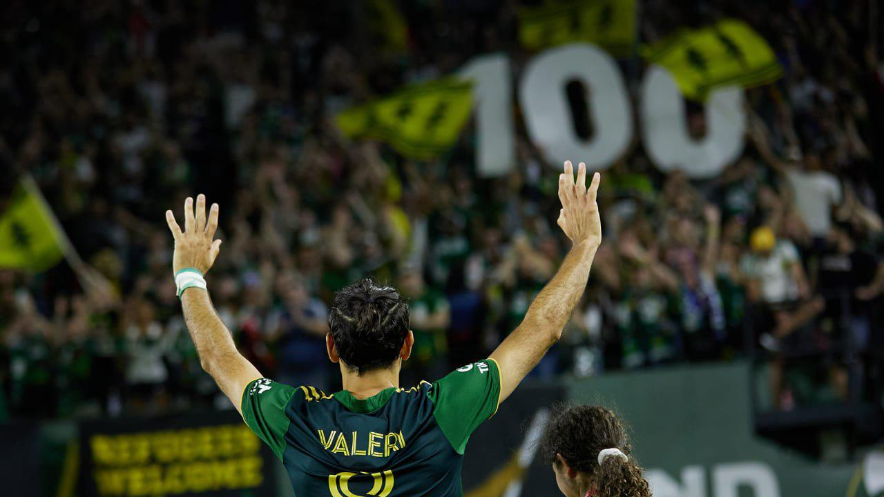 By The Numbers: Valeri scores goal No. 100