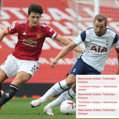 Man U vs Tottenham: check out the results of their last 5 matches — who will win today's match?