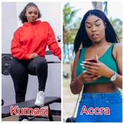 Kumasi Girls Vs Accra Girls - Which Of Them Are Your Favorites