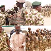 Years After Goodluck Left Office, Photos Of Him Meeting With Soldiers Resurfaced, See What He Said