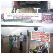 Yopougon: Les premières images du meeting de l'opposition contre la candidature d'Alassane Ouattara
