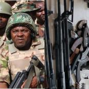 Hours After Buhari's Order, See What Soldiers Did To 5 Fulani Men In Possession Of Weapons (Details)