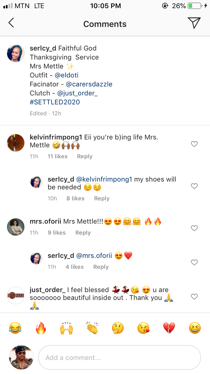 37560ccd29d18c24e67503cd1e8d5174?quality=uhq&resize=720 - Joe Mettle's Wife Flaunts Her Ring For The First Time After Their Wedding, Fans React (Photos)