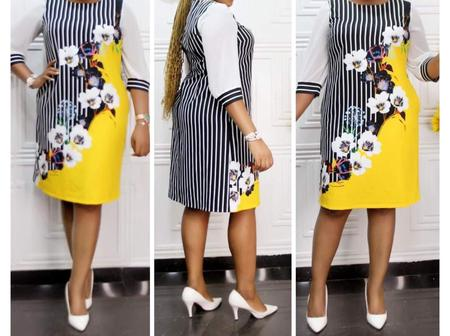 New Gown Styles You Can Sew With Either Ankara Or English Fabrics