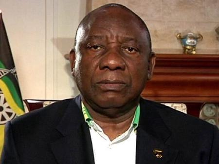 Cyril Ramaphosa what he did is unbelievable.