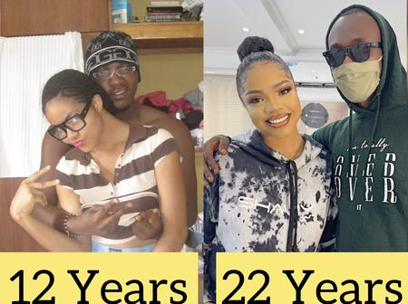 See Before And After Photos Of This Celebrity With Her Cousin That Got Reactions On Social Media