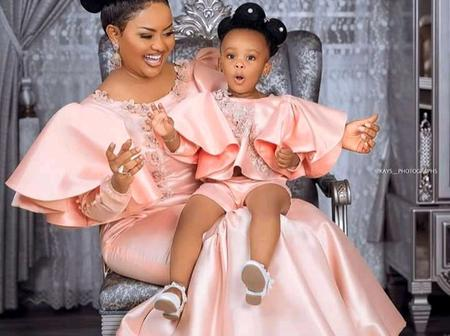 Mothers, see super gorgeous matching style ideas to slay with your little girl this Easter