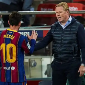 Ronald Koeman confirms Lionel Messi and Griezmann are included in the squad to face Real Madrid.