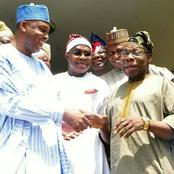 After Saraki Led PDP Chieftains To Meet With Obasanjo, See What They Agreed To Do With Buhari