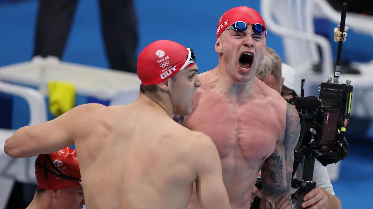 American superstar Caeleb Dressel takes gold in the 50m freestyle as the fastest man in the world in water storms to victory by half a second but Team GB's Ben Proud misses out on a medal with a fifth-place finish