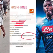 Popular Nigerian player has also reached out to the disabled pure water seller