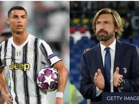 Pirlo reveals his plans for Ronaldo in new-look Juve attack