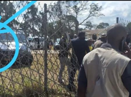 Watch What Twitter Users Noticed As Ramaphosa And Other Mourners Escaped Through The Fence