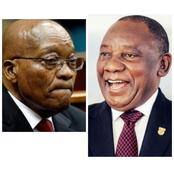 Jacob Zuma VS Cyril Ramaphosa's House, who got the nicest house? See photos below