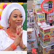 Lawmaker who used COVID 19 palliatives as her birthday gifts has been called out by NIGERIANS