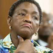 See The Reason Why SASSA Blocked Bathabile Dlamini's Pension Payout