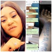 Check What Nkechi Blessing Pens Down To Apologize To The Lady That Drew Her Name On Her Arm(Photos)