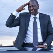 Good News as Deputy President William Ruto Does the Following