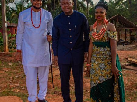 Valentine Ozigbo Congratulates Senator Joy Emodi As Her Son Ties The Knot