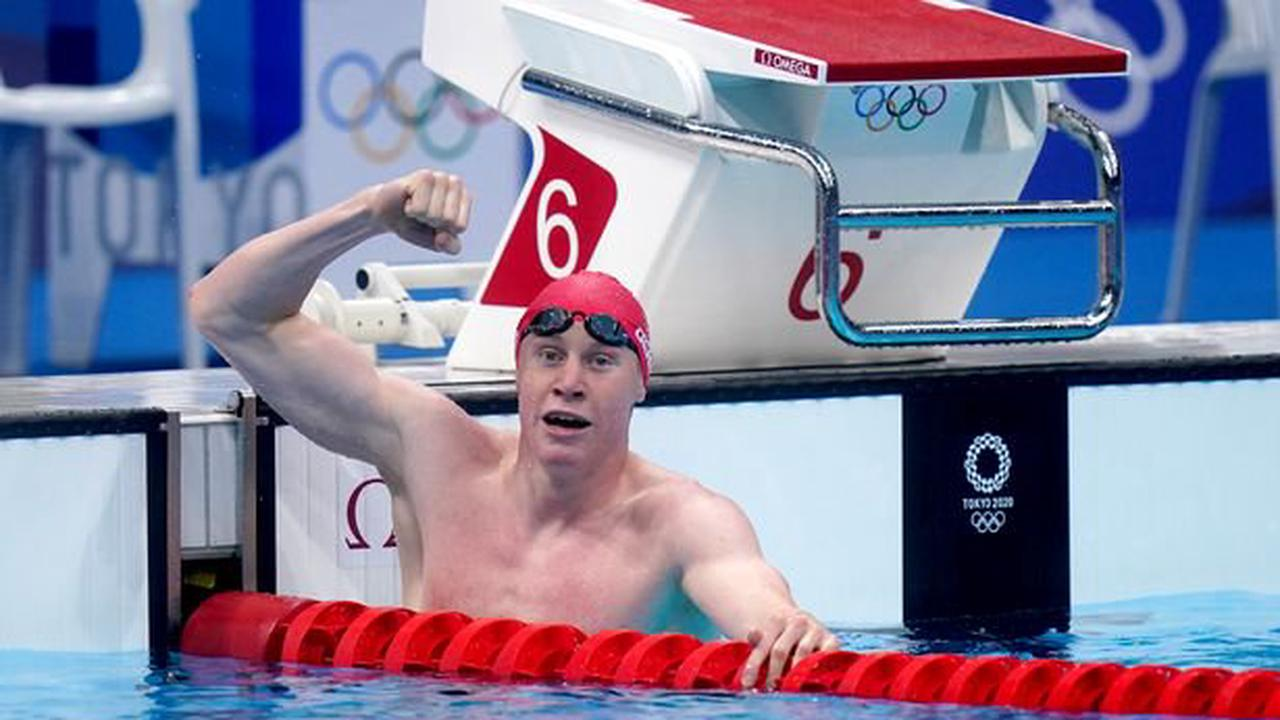 Tom Dean led British one-two in the Olympic 200m freestyle