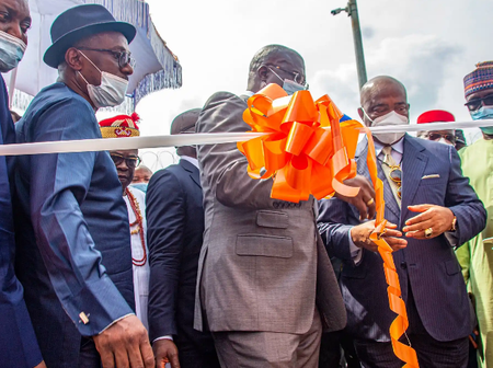 Pictures from the commissioning of the first modular refinery in Nigeria. (Photos)