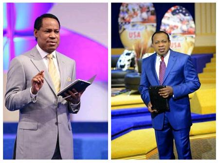 Meet Pastor Chris Oyakhilome's Look Alike Brother Who's Also a Pastor