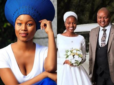 Rendani From Muvhango Wedding Dresses Review Left Mzansi Speechless; See Pictures