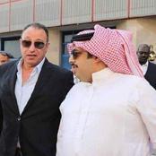 بصورته مع الخطيب.. تركى آل الشيخ يحتفل مع الخطيب ويوجه رسالة لجماهير الأهلي