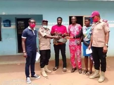 After FRSC Found A Large Amount Of Money At An Accident Scene, Here Is What They Did With The Money