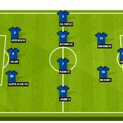 How Chelsea should line up tonight if they want to win.