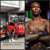 Nigerian MMA fighter Isreal Adesanya suffers first loss days after buying his mum a Porsche