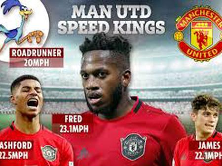 Top 10 Fastest  players in Manchester United squad